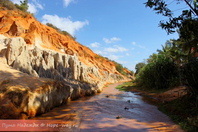 Fairy Stream in Mui Ne, Vietnam 2015